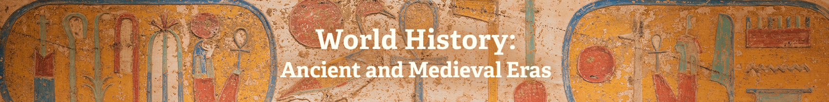 ABC-CLIO Solutions - World History: Ancient and Medieval Eras