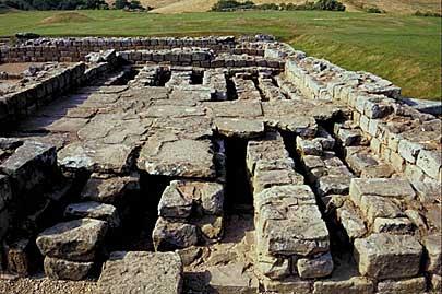 Hadrian's Wall ruins